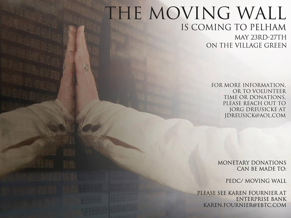 The Moving Wall is Coming to Pelham